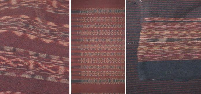 Motif kain tenun ikat khas Lembata-NTT