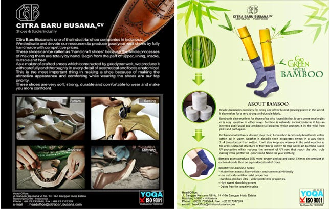 kaus kaki bambu 1