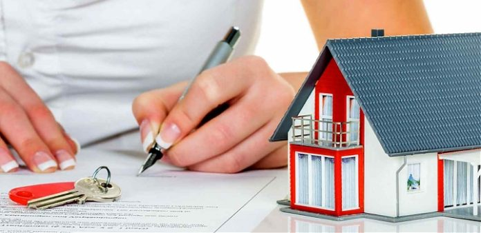 Ilustrasi investasi properti meningkat dan dp 0 persen