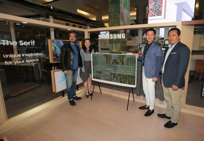TV terbaru Samsung The Serif