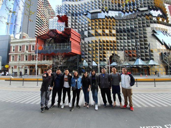 mahasiswa arsitektur uph adakah pertukaran pelajar di korea