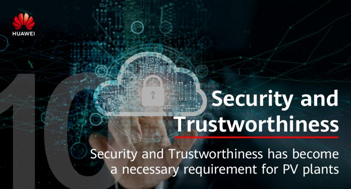 smart pv Keamanan dan Kepercayaan