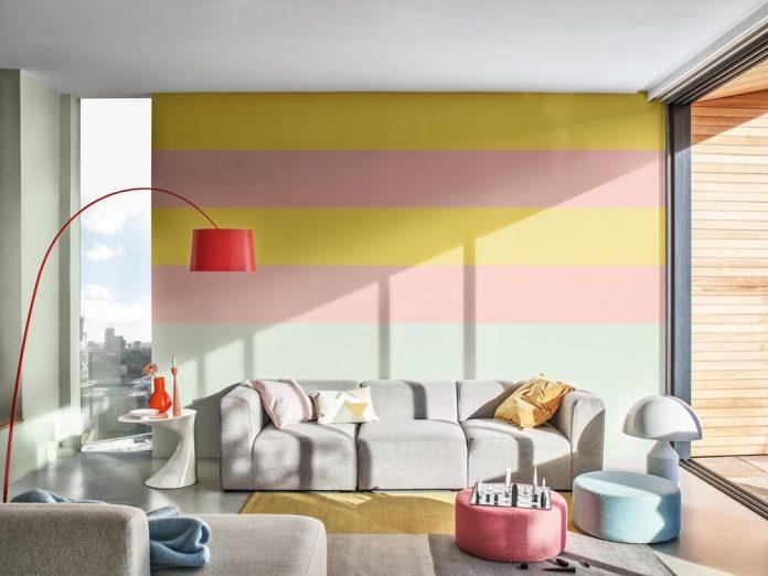 tren warna dari cat dulux