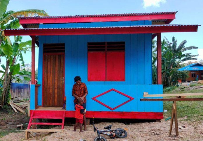rumah di papua dan 19 balai ppp dan bedah rumah di papua