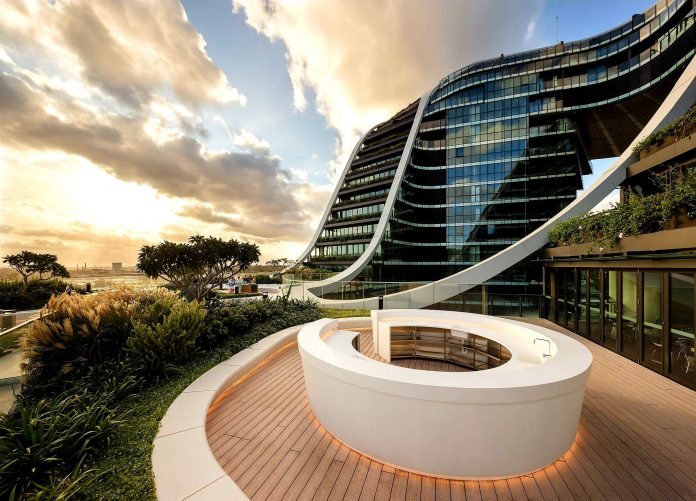 Infinity by Crown Group RoofTop Garden
