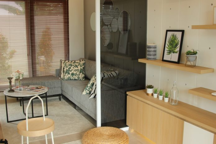 Show unit tipe terbaru Synthesis Homes