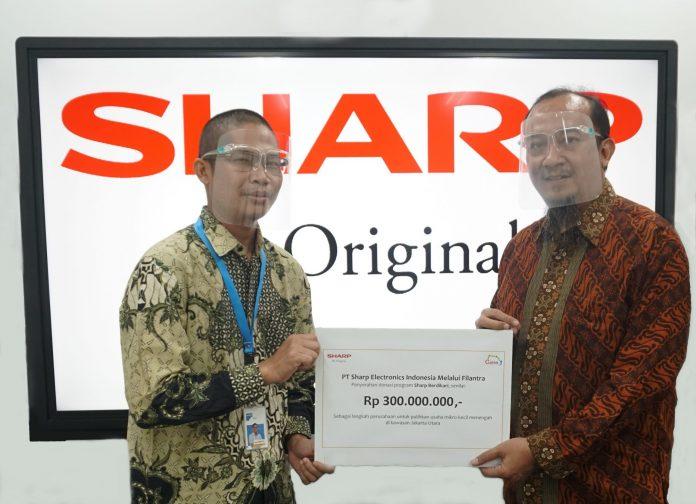 CSR Sharp Berdikari untuk umkm