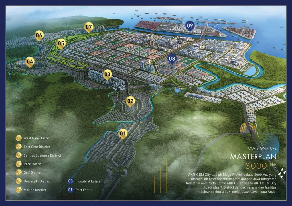 AKR Grand Estate Marina (GEM) City