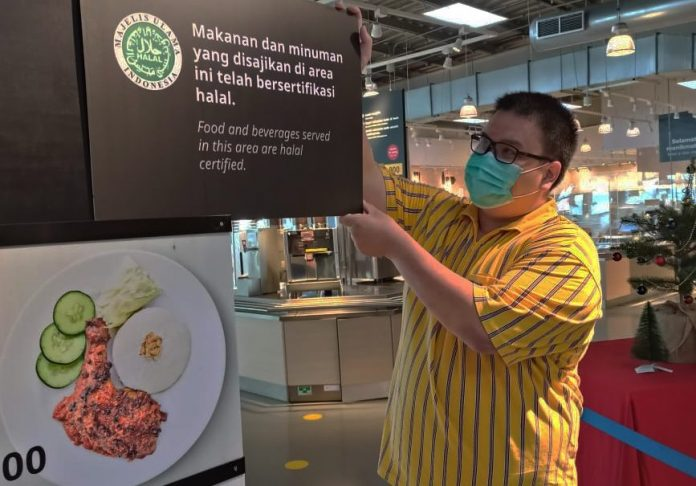 Ikea Restoran dan Kafe Kantongi Sertifikat Halal