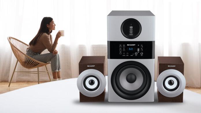 Sharp Active speaker