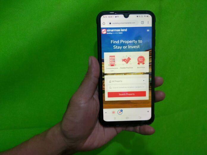 Sinar Mas Land meluncurkan platformdigital