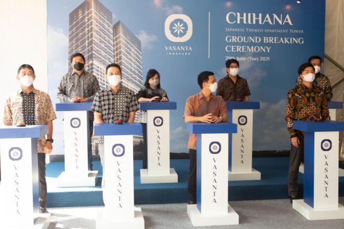 vasanta innopark groundbreaking Tower Chihana