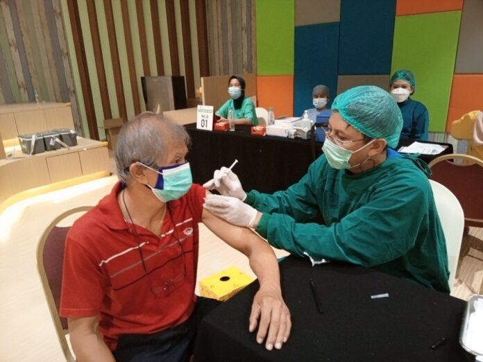 vaksin di QBig BSD City