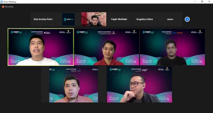 Sinar Mas Land bersama Teman Startup menyelenggarakan kegiatan 'StartHub'