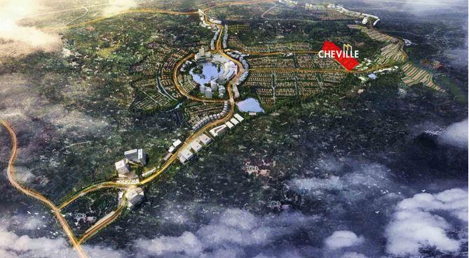 Proyek Grand City Balikpapan yang dikembangkan oleh Sinar Mas Land