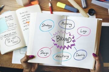 Ilustrasi strategi membangun brand
