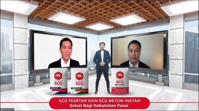 Peluncuran SCG Mortar dan Rebranding SCG Beton Instan