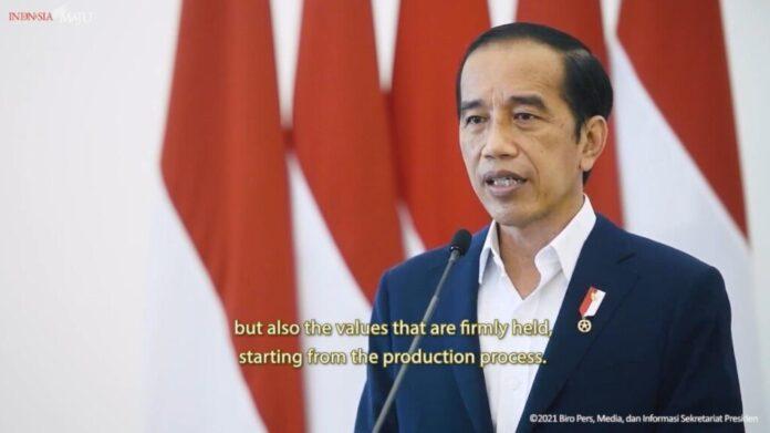 Presiden Jokowi buka IFEX 2021