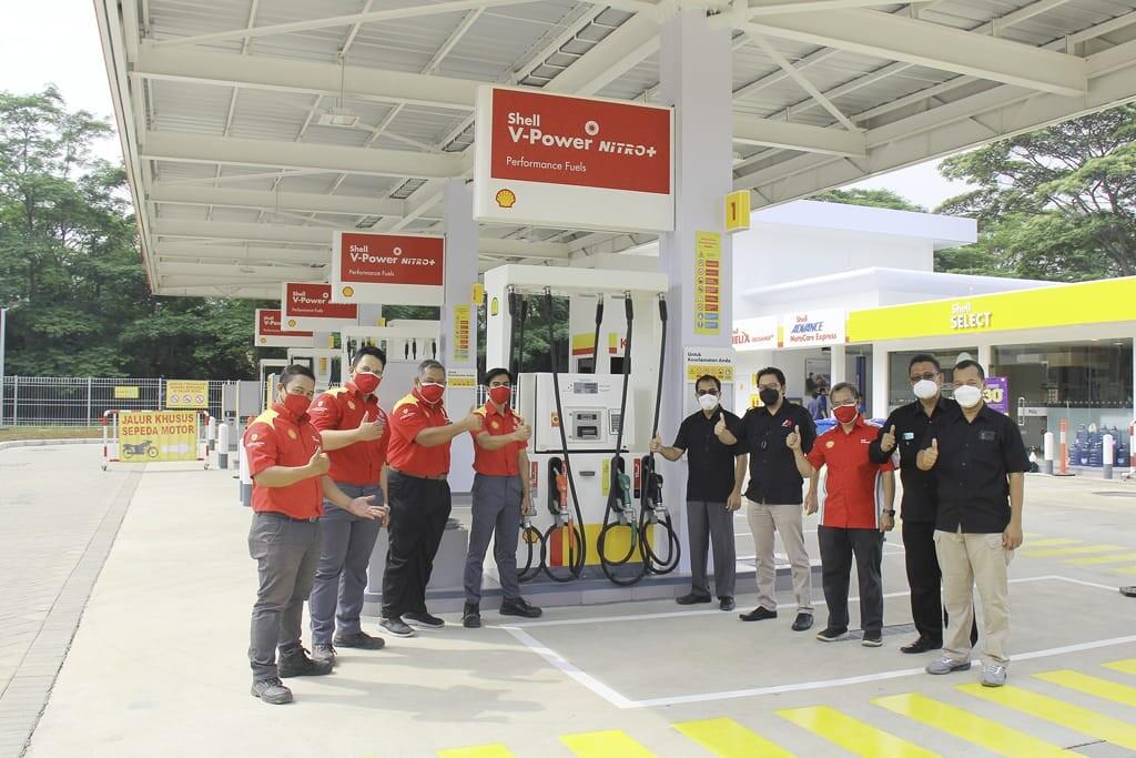 SPBU Shell Jakarta Garden City
