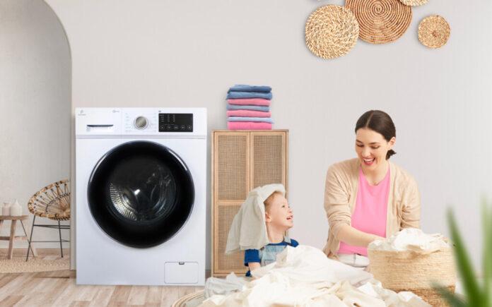Mesin cuci sekaligus pengering Polytron 2 in 1 Washer Dryer