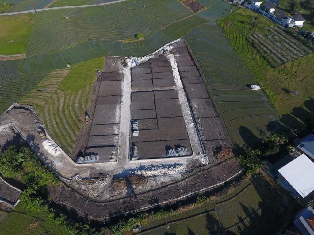 tanah kavling berukuran 120 meter persegi di Teratai Grand Village