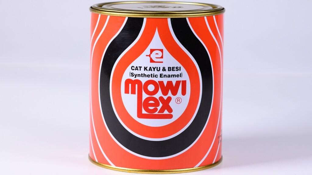 Cat besi dan kayu tanpa timbal dari Mowilex