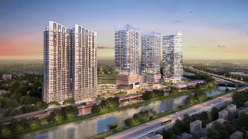 Kawasan superblok Megacity Bekasi