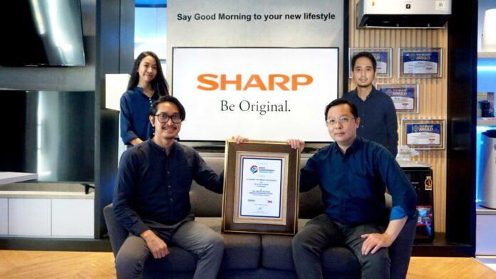 Sharp Raih Predikat Merek Paling Kreatif di Indonesia