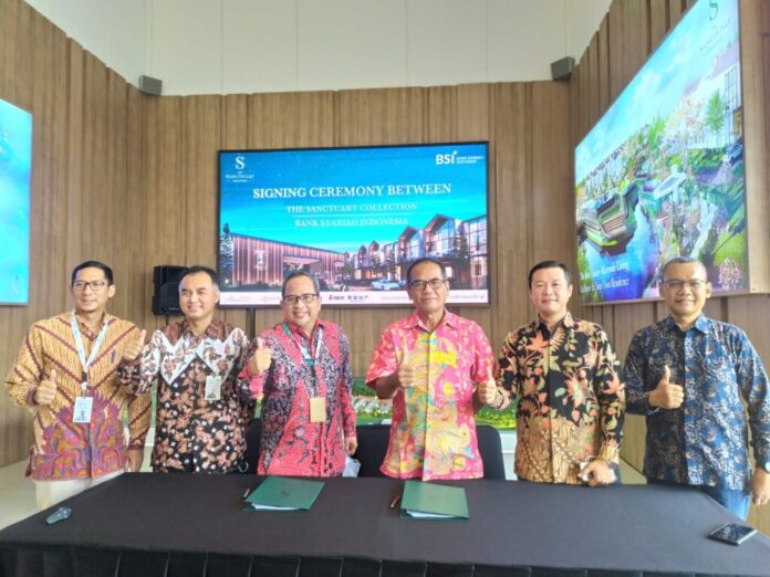 the sanctuary collection dan bank syariah indonesia